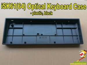 60% mechanical keyboard case for iSK61 iSK64 optical switch keyboard, black / white optional