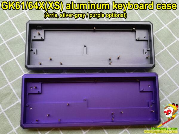 Custom aluminum keyboard cases for 60% hot swap mechanical keyboards iGK(GK)61XS iGK(GK)64XS
