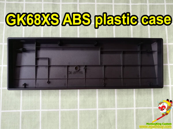 Custom 60 keyboard case for hot swappable mechanical keyboard GK68XS SK68, best black