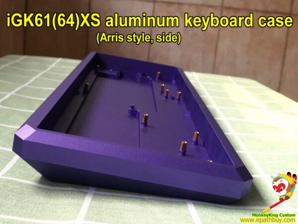 High quality 60% aluminum keyboard case, iGK Arris series, buy best custom 60 percent keyboard case, build your own keyboard