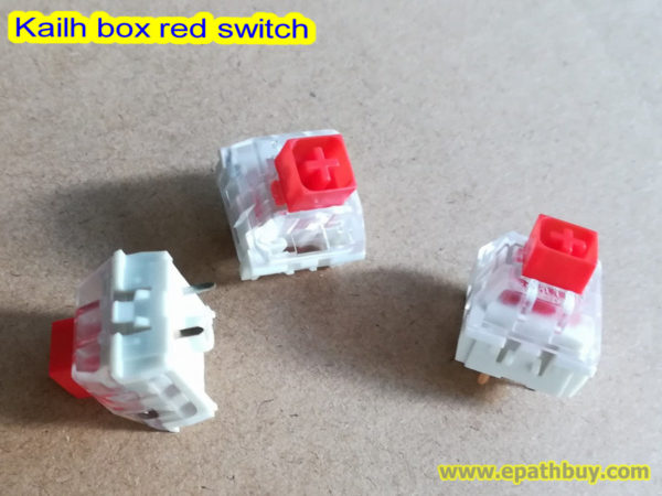 Kailh box red switch
