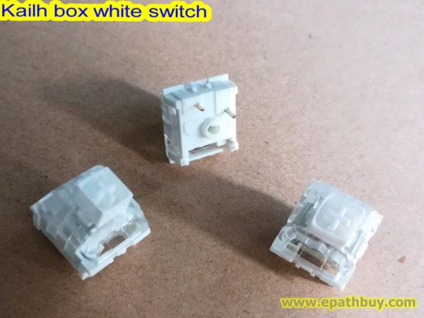 Kailh box white switch