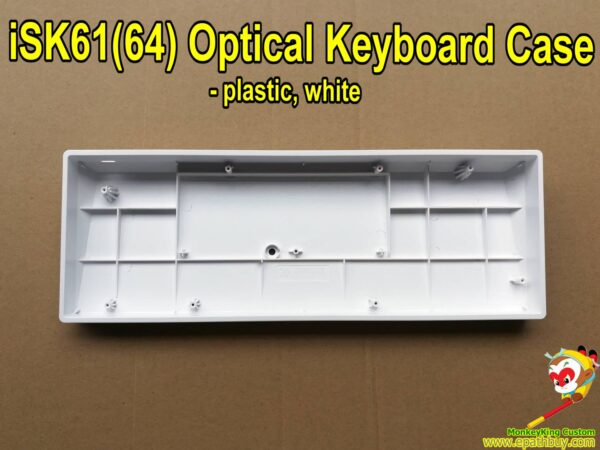 High quality SK61 SK64 optical switch keyboard case, white, buy DIY optical keyboard parts at best price