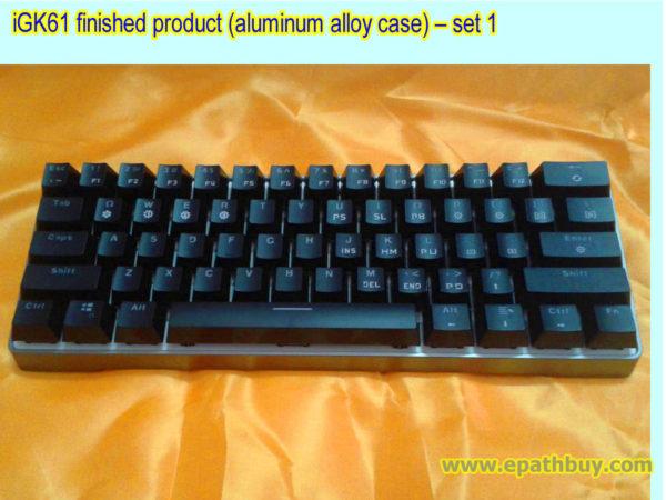 iGK61 finished product (aluminum alloy case) – set 1