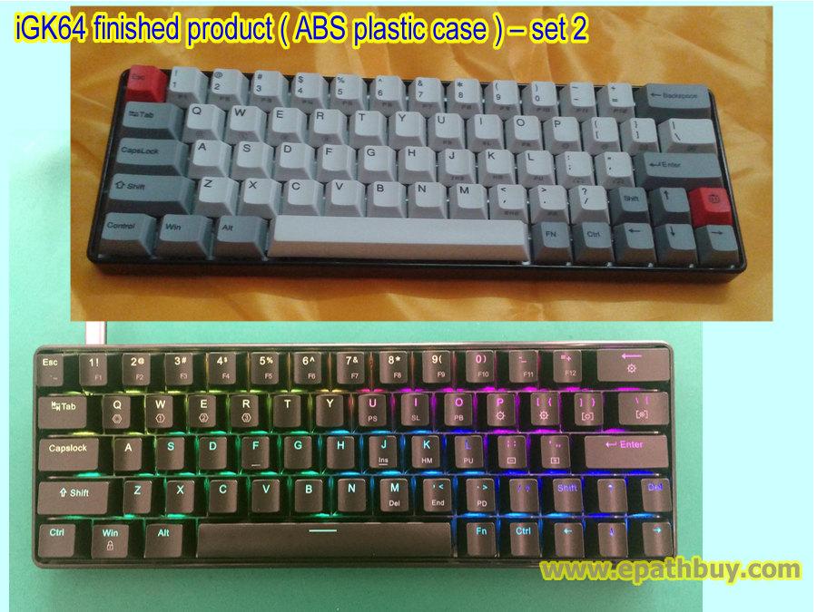 a1e37f5692c 60% compact mechanical keyboard, 64 key small keyboard, custom mini keyboard