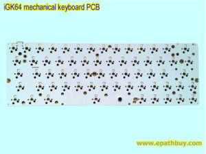 iGK64 mechanical keyboard PCB