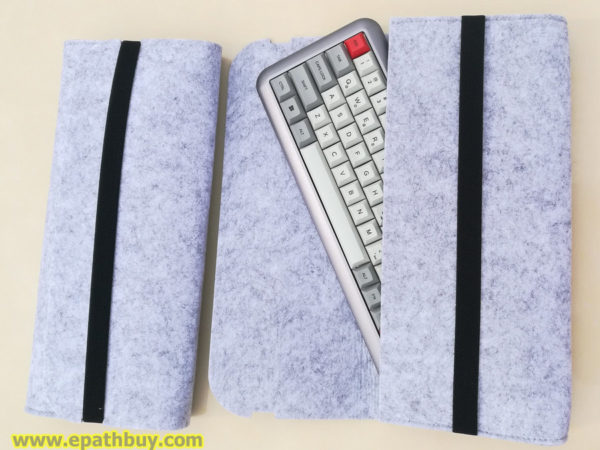 iGK64,iGK68 mechanical keyboard felt pouch