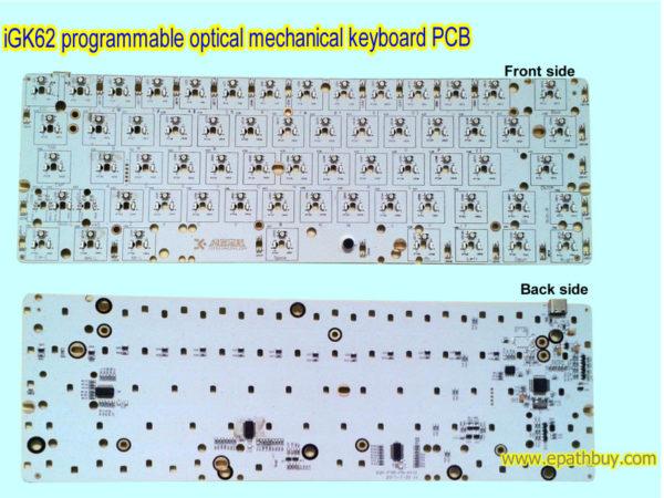iGK62 optical mechanical keyboard PCB