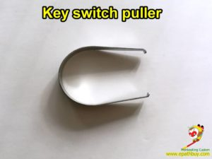 Mechanical keyboard key switch puller, diy keyboard tool